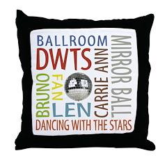 DWTS Fan Throw Pillow