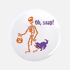 "Oh, Snap Skeleton 3.5"" Button"