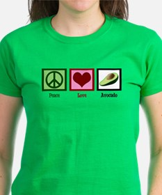 Peace Love Avocado Tee