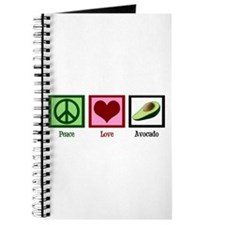 Peace Love Avocado Journal