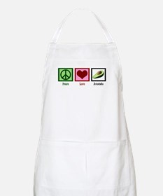 Peace Love Avocado Apron