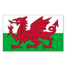 Welsh Flag Decal