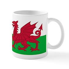 Welsh Flag Small Mug