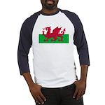 Welsh Flag Baseball Jersey
