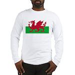 Welsh Flag Long Sleeve T-Shirt