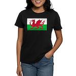 Welsh Flag Women's Dark T-Shirt