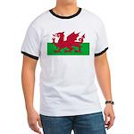 Welsh Flag Ringer T
