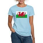 Welsh Flag Women's Light T-Shirt