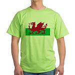Welsh Flag Green T-Shirt