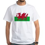 Welsh Flag White T-Shirt