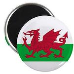 """Welsh Flag 2.25"""" Magnet (100 pack)"""