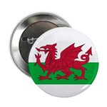 "Welsh Flag 2.25"" Button (100 pack)"