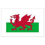 Welsh Flag Large Poster