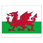 Welsh Flag Small Poster