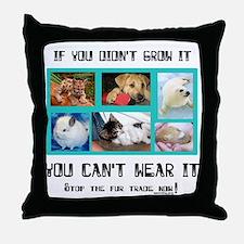 If You Didn't Grow It Throw Pillow