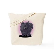 Suki Bear Pom Tote Bag