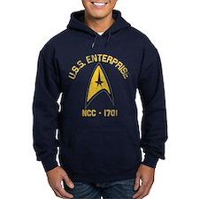 U.S.S. Enterprise Retro Hoodie