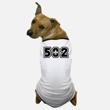 502 Black Dog T-Shirt