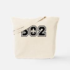 502 Black Tote Bag