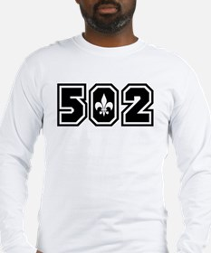 502 Black Long Sleeve T-Shirt