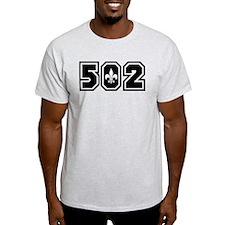 502 Black T-Shirt