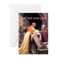God Speed! in pink Greeting Card