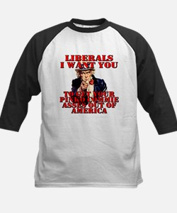 Anti Pinko Commie Liberals Tee