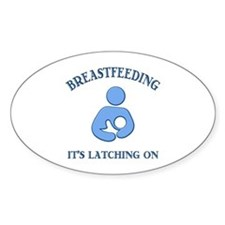 It's Latching On - Decal