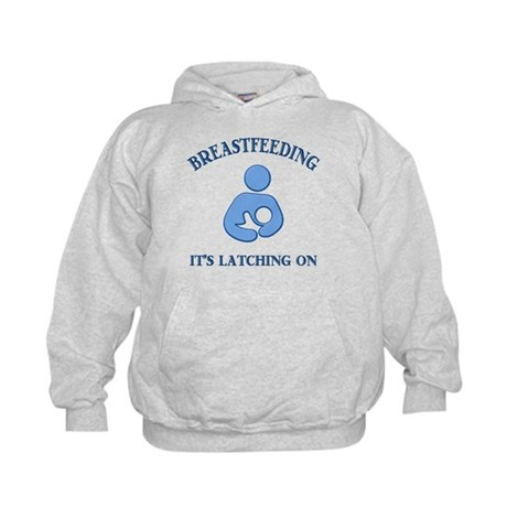 It's Latching On - Kids Hoodie