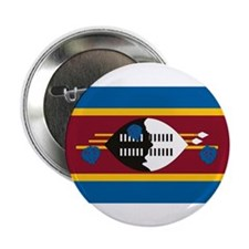 """Swaziland Flag 2.25"""" Button (10 pack)"""