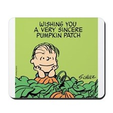 Sincere Pumpkin Patch Mousepad