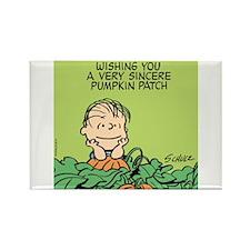 Sincere Pumpkin Patch Rectangle Magnet