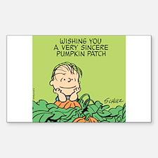 Sincere Pumpkin Patch Decal