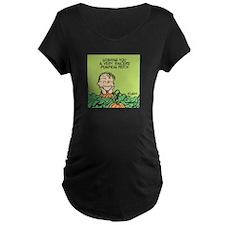 Sincere Pumpkin Patch Maternity Dark T-Shirt