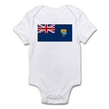 St. Helena Flag Infant Creeper