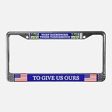 Patriotic License Plate Frame