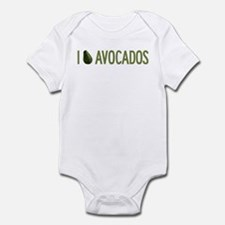 I Love Avocados Infant Bodysuit