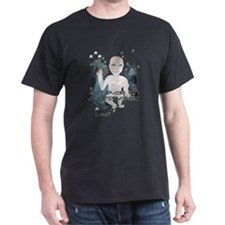 Spaced Out Black T-Shirt