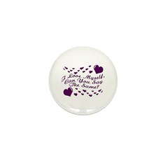 I Love Myself Mini Button (10 pack)