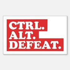 CTRL. ALT. DEFEAT. Decal