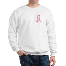 Pink Ribbon Breast Cancer Sweatshirt