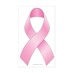Breast Cancer Ribbon Decal