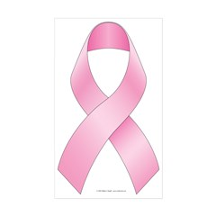 Breast Cancer Ribon Decal