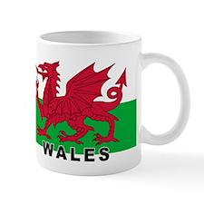 Welsh Flag (labeled) Small Mug