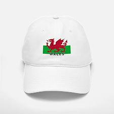 Welsh Flag (labeled) Baseball Baseball Cap