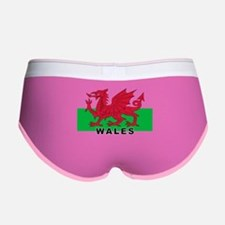 Welsh Flag (labeled) Women's Boy Brief