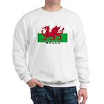 Welsh Flag (labeled) Sweatshirt