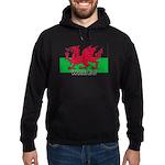 Welsh Flag (labeled) Hoodie (dark)