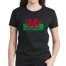 Welsh Flag (labeled) Tee