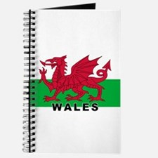 Welsh Flag (labeled) Journal